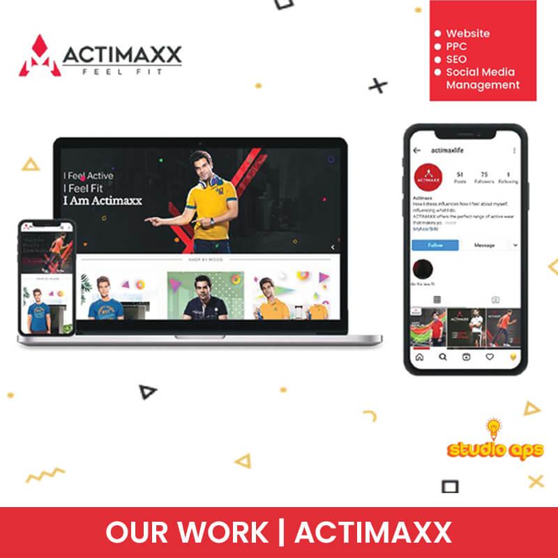 Actimaxx - Website - PPC - SEO - Social Media