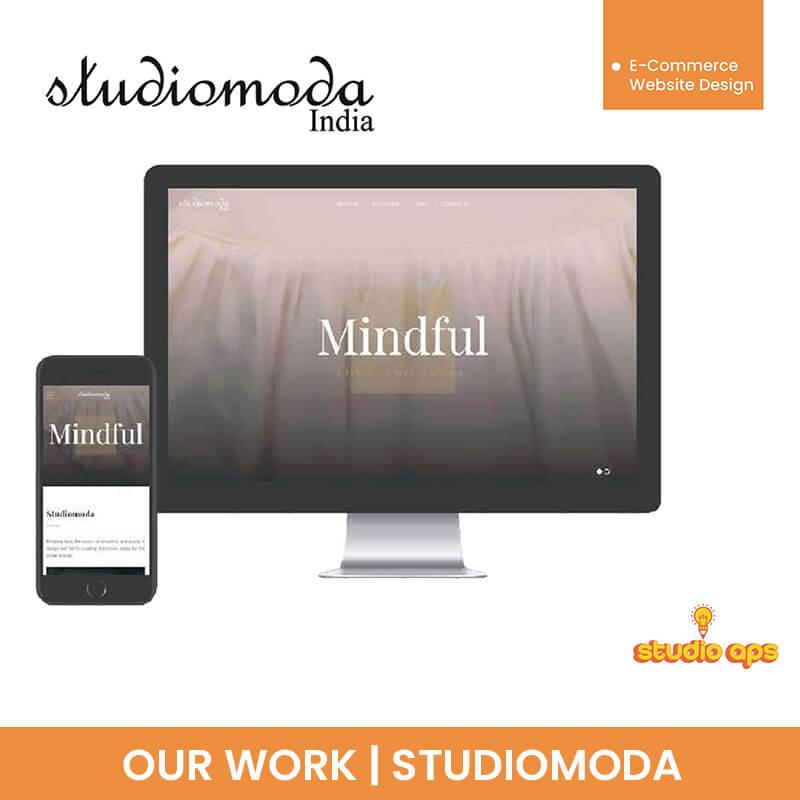 Studiomoda - E-Commerce Website